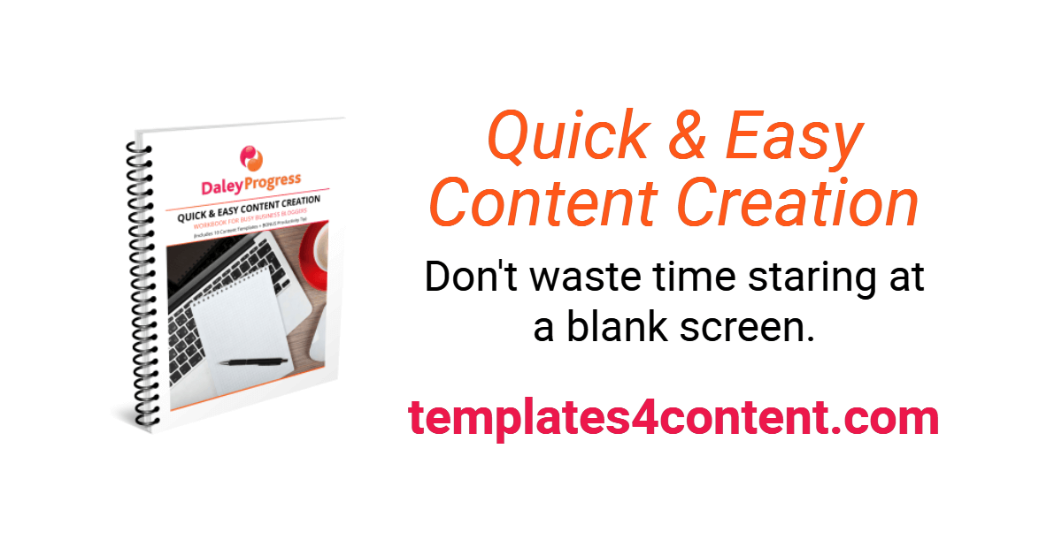 Quick and Easy Content Creation Workbook