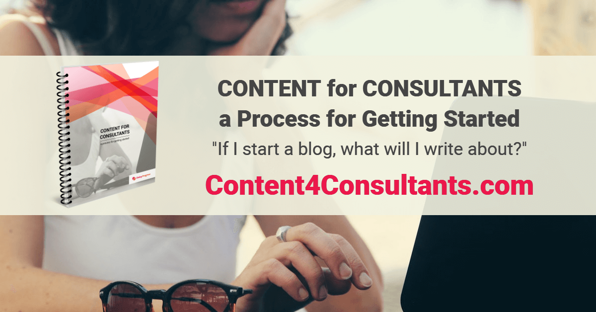 Content for Consultants workbook
