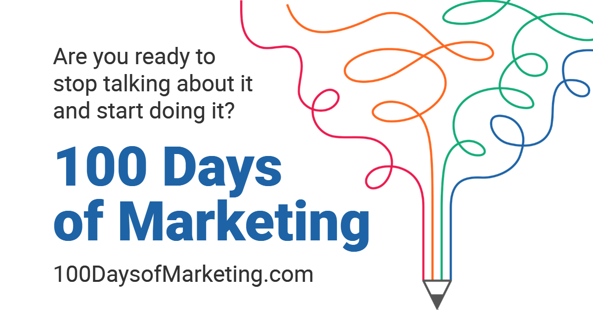 100 Days of Marketing