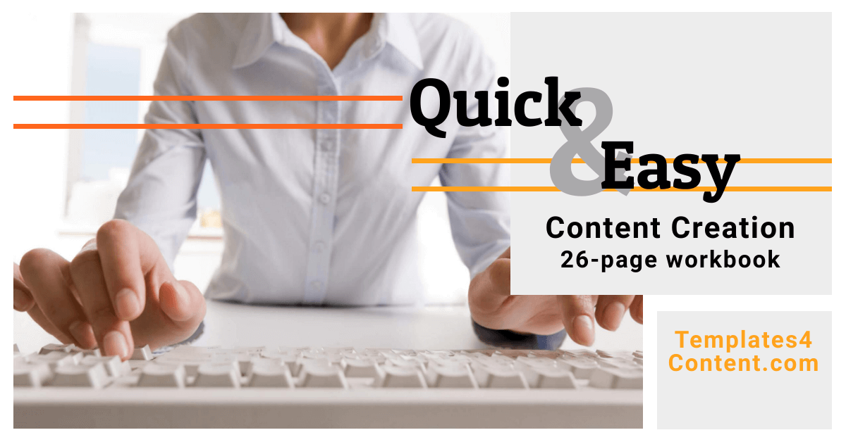 Quick and Easy Content Creation